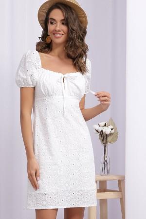 Платье Бажена к/р GL69072 цвет белый 1