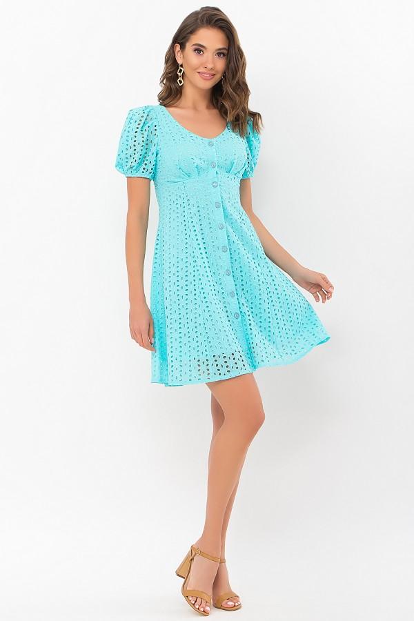 Сукня Една к / р GL69768 колір бірюзовий