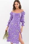 Сукня Пала д / р GL67720 колір бузковий-білий букет