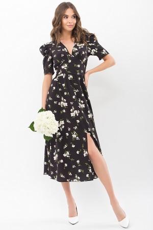 Сукня Фаріза К / р GL68275 Колір Чорний-білий букет