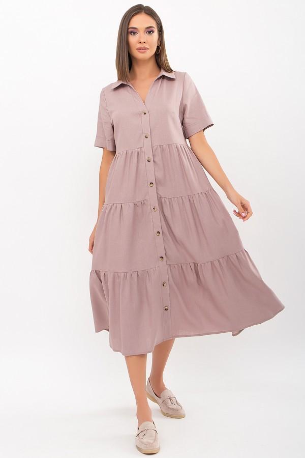 Плаття Іветта к/р GL69430 колір капучино