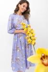 Плаття Сауле 3/4 GL68270 колір джинс-гілка
