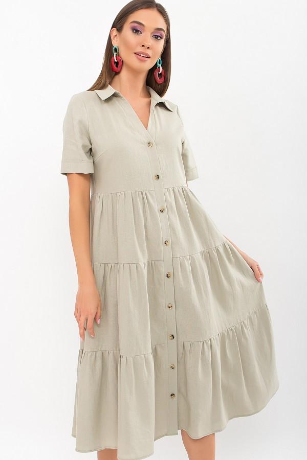 Плаття Іветта к/р GL69428 колір оливковий