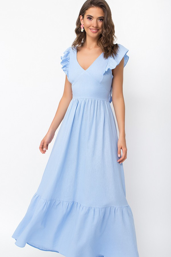 Сарафан Оділь GL 70049 колір блакитний