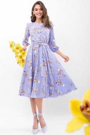 Сукня Сауле 3/4 GL68270 колір джинс-гілка