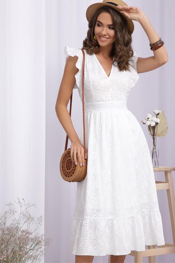 Платье Дария б/р GL70872 цвет белый