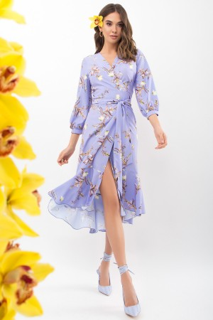 Плаття Сафура 3/4 GL68195 колір джинс-гілка
