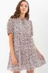 Плаття Каміль к/р GL68909 колір чорний-ромашки
