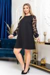 Модна сукня великого розміру  YM41901 за  ціною 640 грн.
